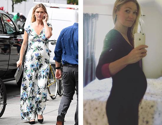 Julia Stiles Ties The Knot Tiffany Rose Maternity Blog Ch