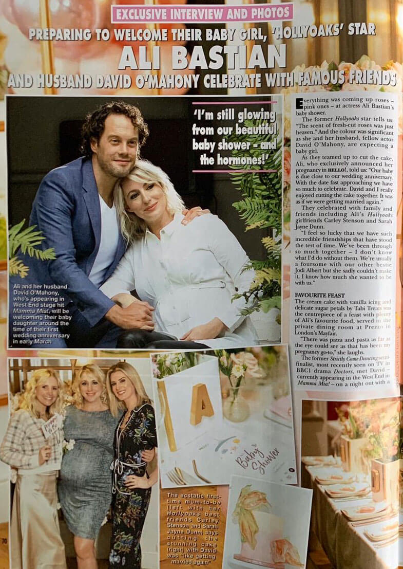 Ali Bastian's Baby Shower