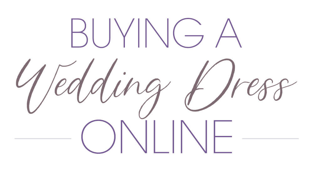 How to Shop for a Wedding Dress Online