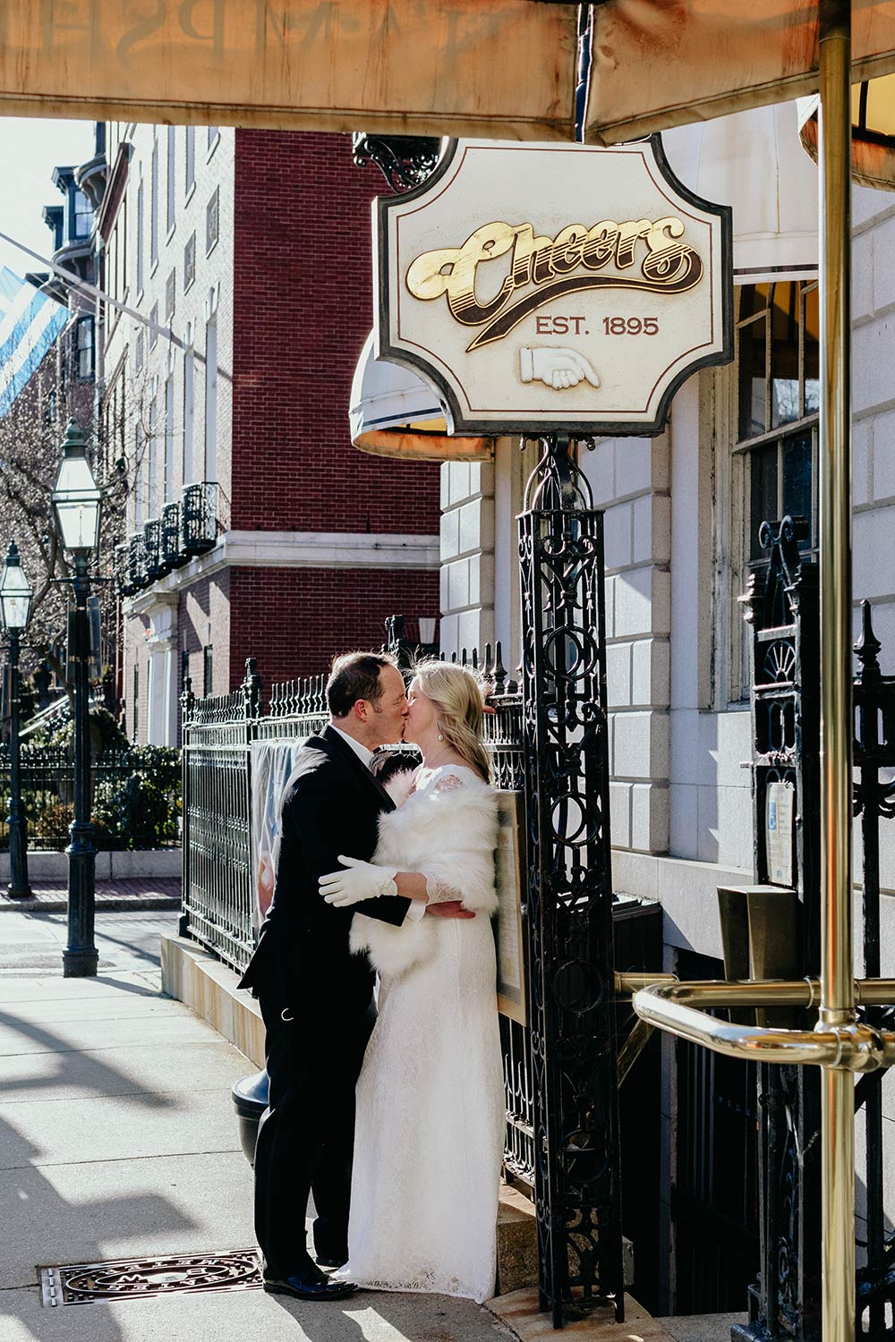 Intimate Boston Wedding