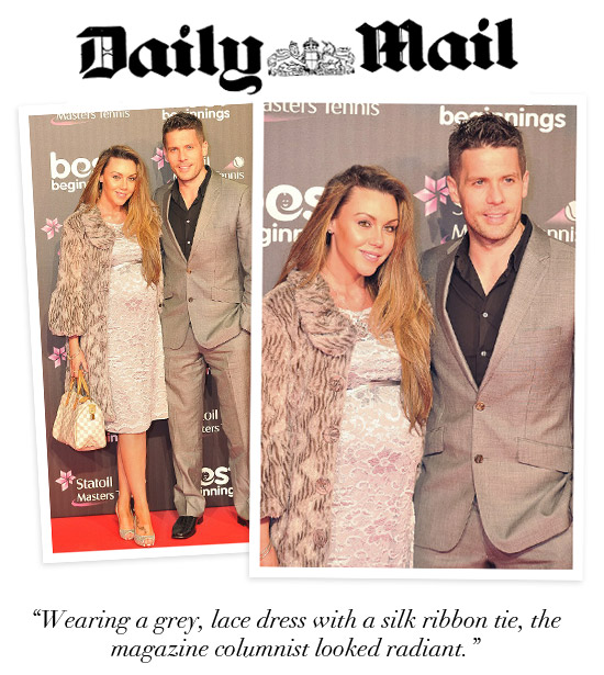 Michelle Heaton Glams it up at the Albert Hall!
