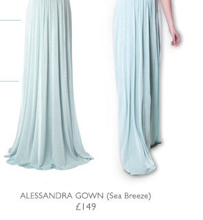 Alessandra Dress Sea Breeze
