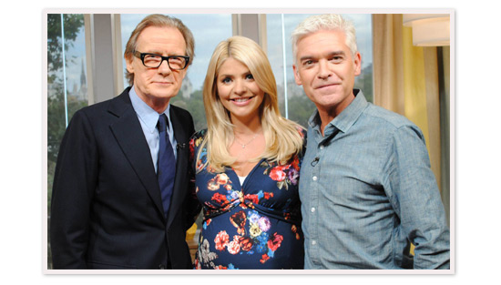 Holly Willoughby blossoms in our Lara Dress on This Morning