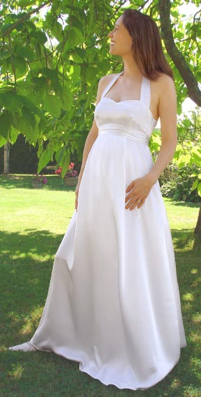 Maternity Wedding Dress 1