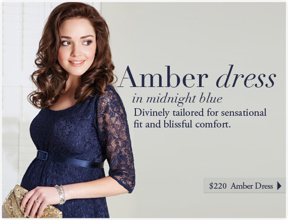 Amber Dress (Midnight Blue) by Tiffany Rose