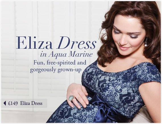 Eliza Dress (Aqua Marine) by Tiffany Rose