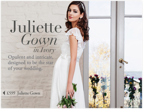 Juliette Gown (Ivory) by Tiffany Rose