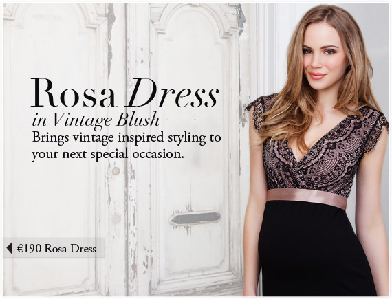 Rosa Dress (Vintage Blush) by Tiffany Rose