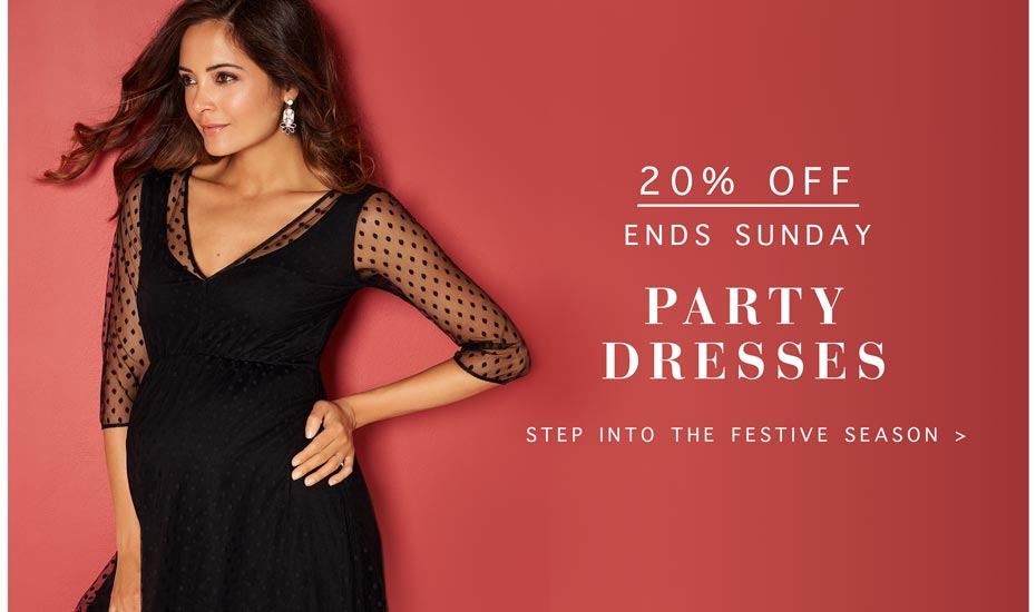 20% Off Party Dresses