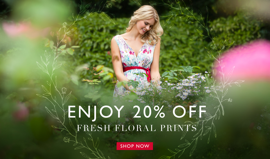 20% off Fresh Florals