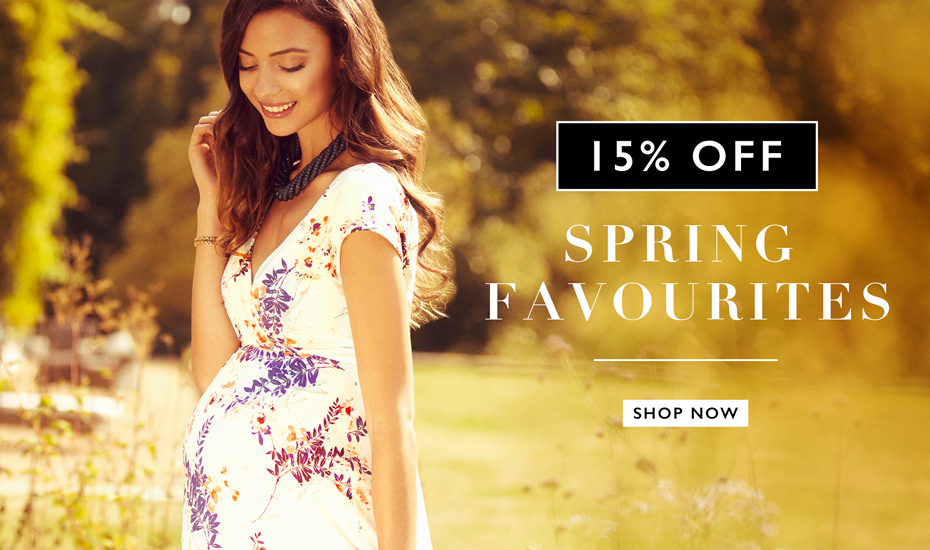 15% off Spring Favourites
