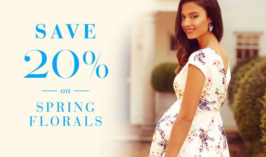 Save 20% on Spring Florals