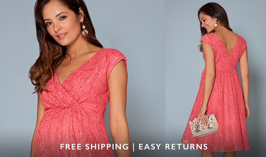 Maternity Dresses & Maternity Evening Wear by Tiffany Rose
