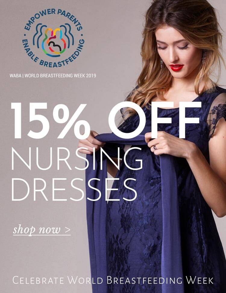 World Breastfeeding Week | 15% Off Nursing
