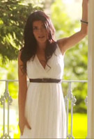 Marli Harwood in the video for her debut single