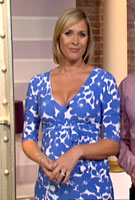 Jenni Falconer on ITVs This Morning wearing the Cruise Maternity Dress by Tiffany Rose