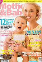 As Seen in Mother & Baby, July 2012