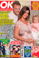 Rebekah Vardy wearing the Eden Gown Long (Blush)