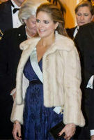 Princess Madeleine of Sweden wearing Eden Dress in Arabian Nights
