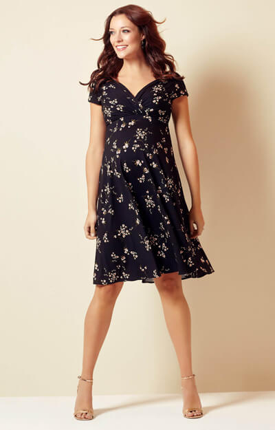 Alessandra Maternity Dress Short Night Blossom by Tiffany Rose