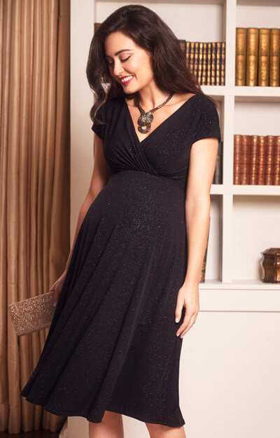 Alessandra Maternity Dress Short Night Sky by Tiffany Rose