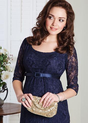 Amber Maternity Dress (Midnight Blue) - Maternity Wedding Dresses ...