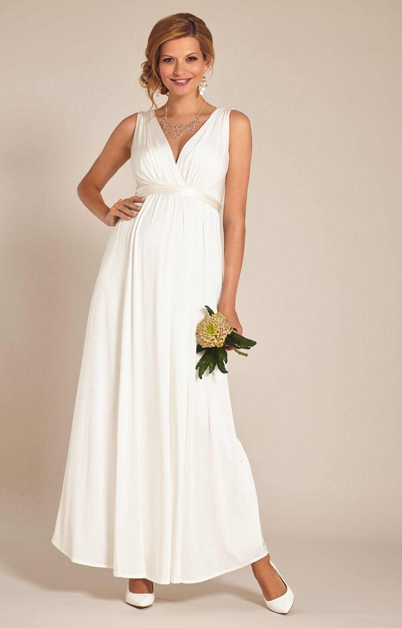 Anastasia Maternity Wedding Gown (Ivory) - Maternity Wedding Dresses ...