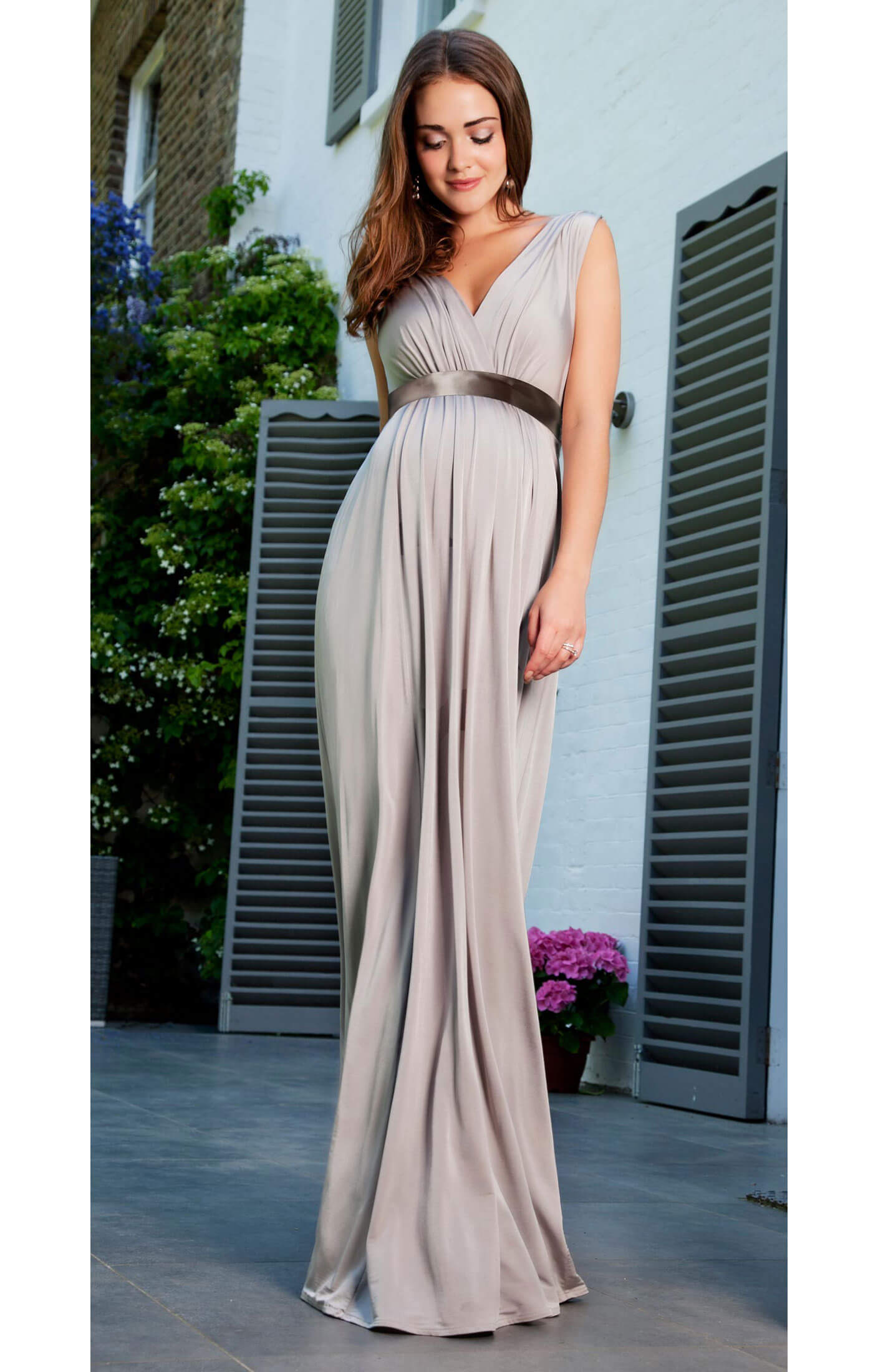Anastasia Maternity Gown (Silver Screen) - Maternity Wedding Dresses ...