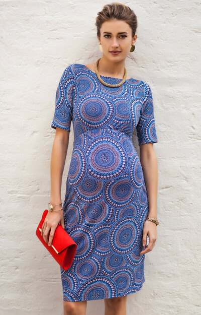 Anna Maternity Shift Dress Aztec Artistry by Tiffany Rose