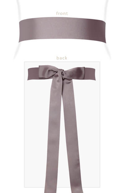 Grosgrain Ribbon Sash (Dusk) by Tiffany Rose