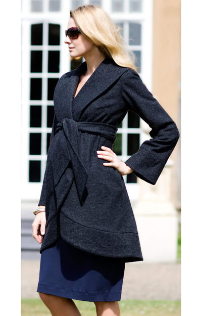 Belle Maternity Coat by Tiffany Rose