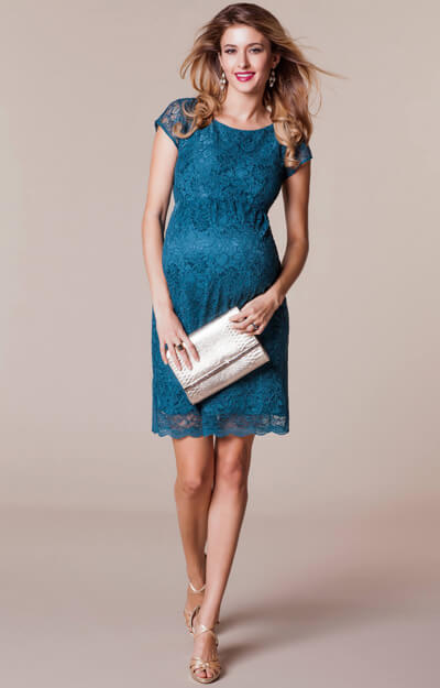 Emma Maternity Shift Dress Dragonfly by Tiffany Rose