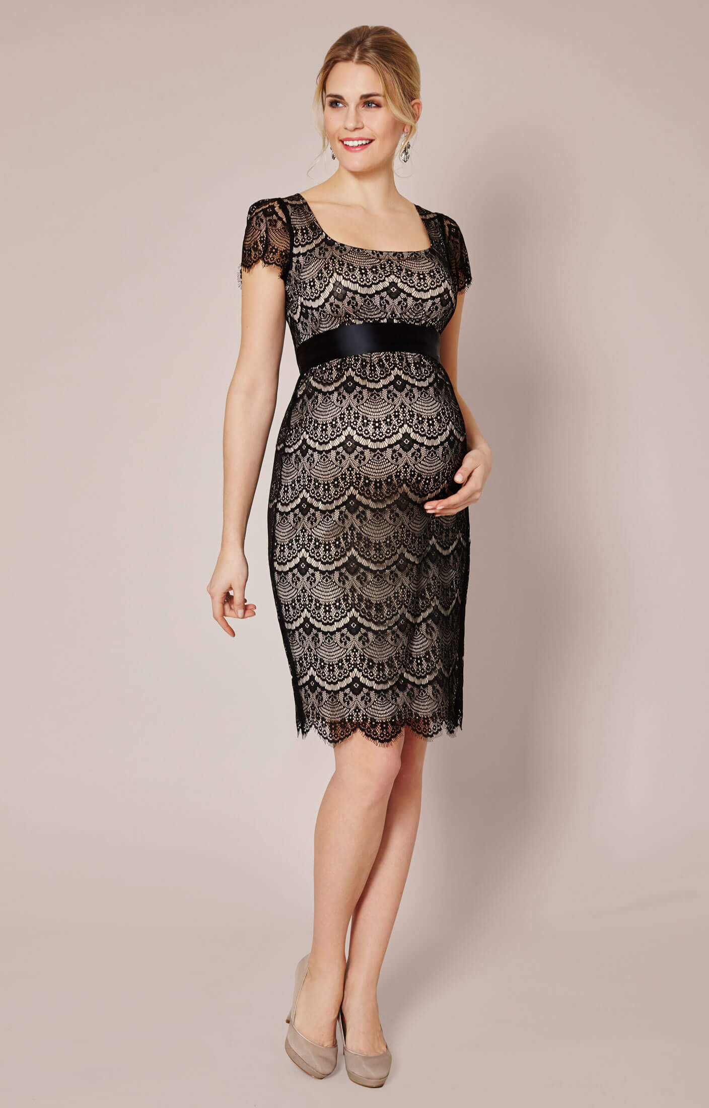 Flutter Lace Maternity Dress Maternity Wedding Dresses