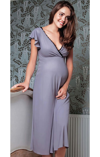 Francesca Maternity Night Gown by Tiffany Rose