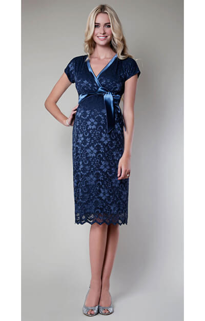 Grace Maternity Dress (Misty Blue) by Tiffany Rose