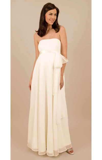 Jasmine Maternity Bridal Gown by Tiffany Rose