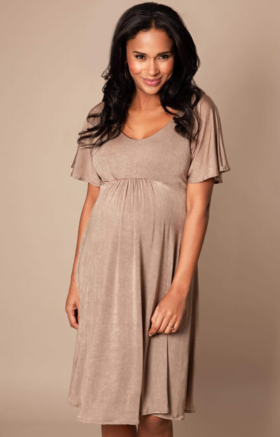 Kimono Maternity Dress short Sand Dune by Tiffany Rose