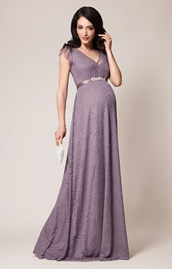 Kristin Maternity Gown Long Wisteria