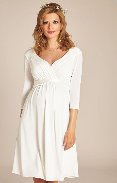 Lexi Maternity Wedding Dress Ivory by Tiffany Rose