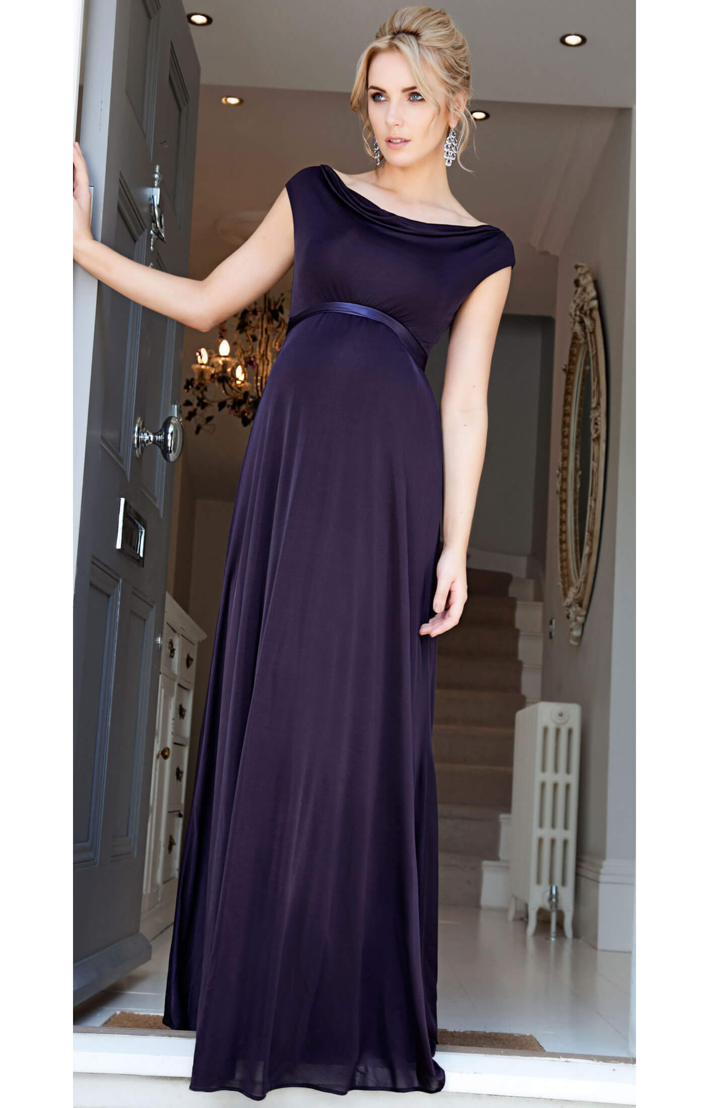 Liberty Maternity Gown (Blackberry) - Maternity Wedding Dresses ...