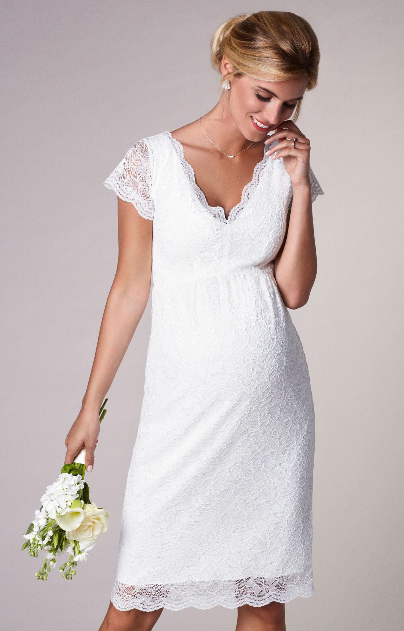 robe de mari e maternit en dentelle ivoire robes de