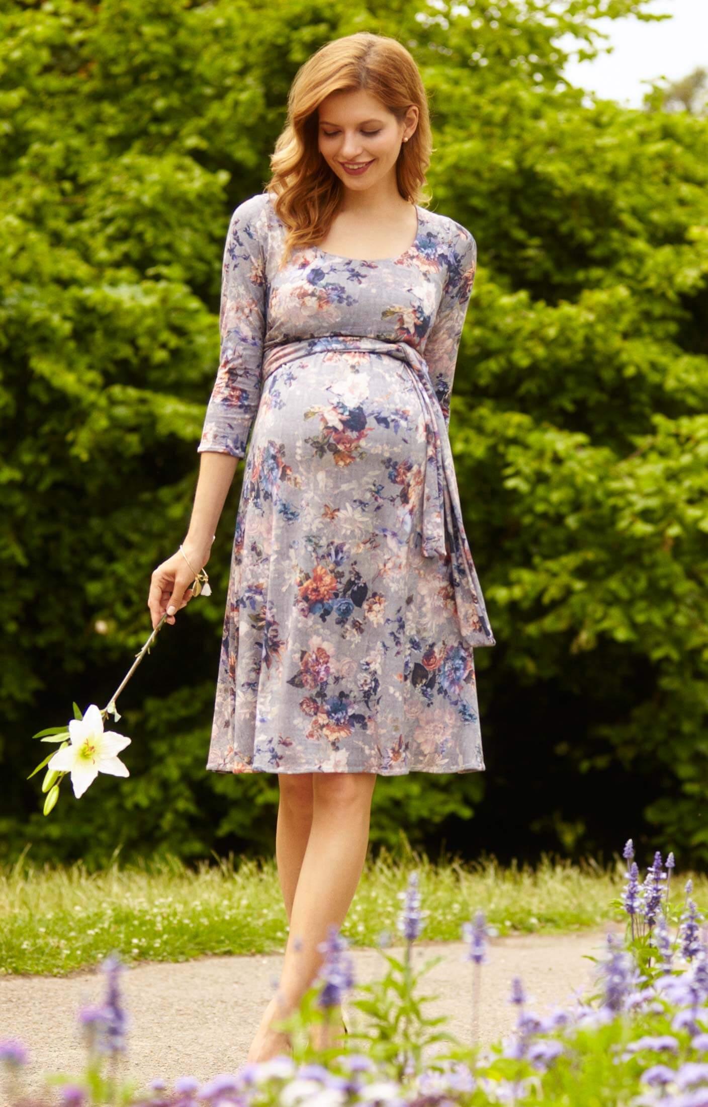 Naomi nursing dress vintage bloom maternity wedding for Nursing dresses for wedding