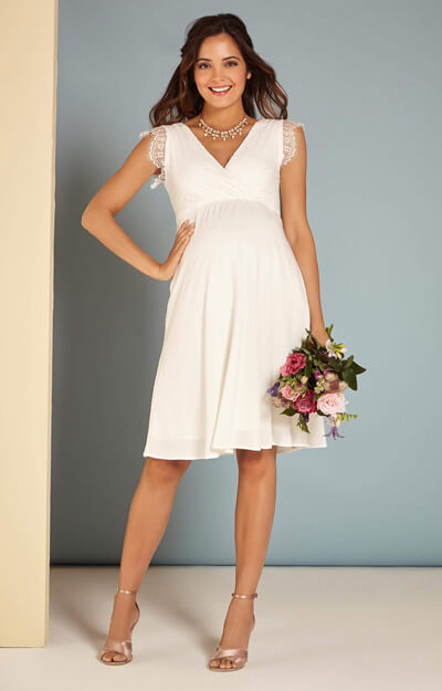 Nina Maternity Wedding Dress Ivory by Tiffany Rose