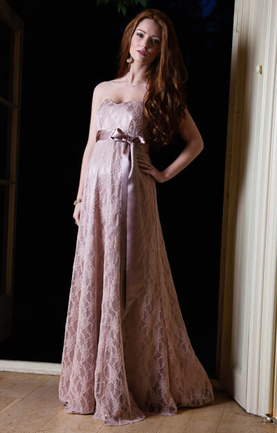 Olivia Maternity Gown (Antique Rose) by Tiffany Rose