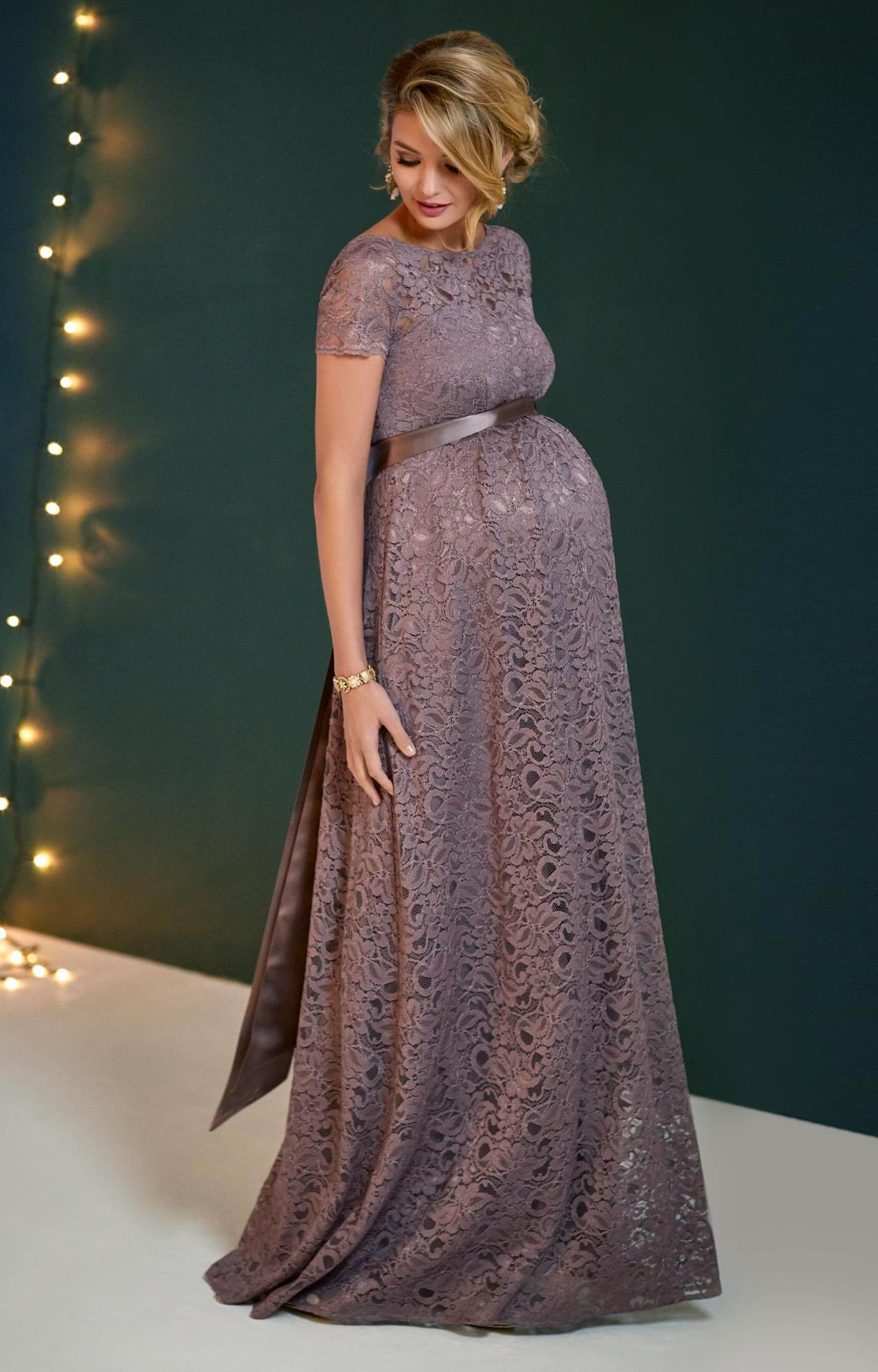 Penelope Lace Maternity Gown Vintage Violet Maternity Wedding Dresses Evening Wear And Party Clothes By Tiffany Rose Us