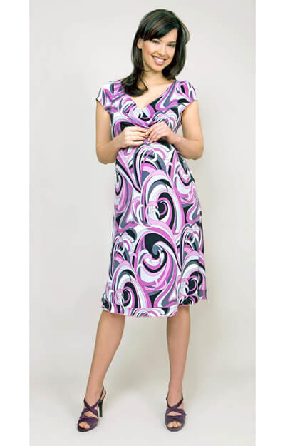 Pucci Jersey Maternity Dress by Tiffany Rose