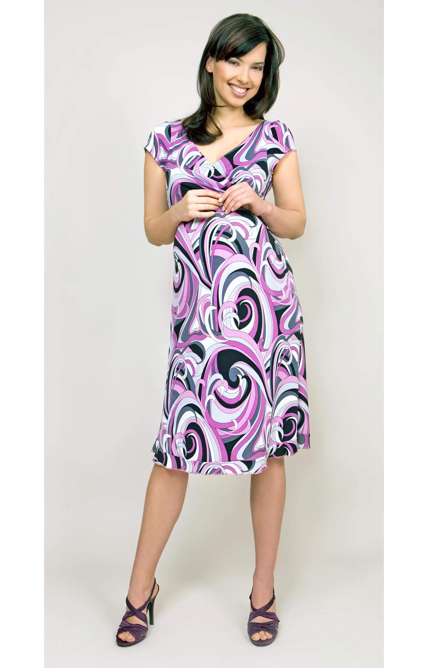 Pucci Jersey Maternity Dress - Maternity Wedding Dresses, Evening ...