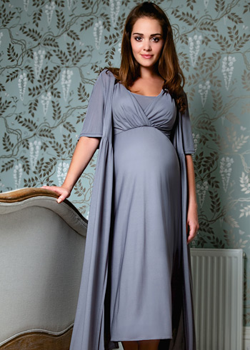 8825471269111 Serenity Robe - Maternity Wedding Dresses, Evening Wear and Party Clothes  by Tiffany Rose DK