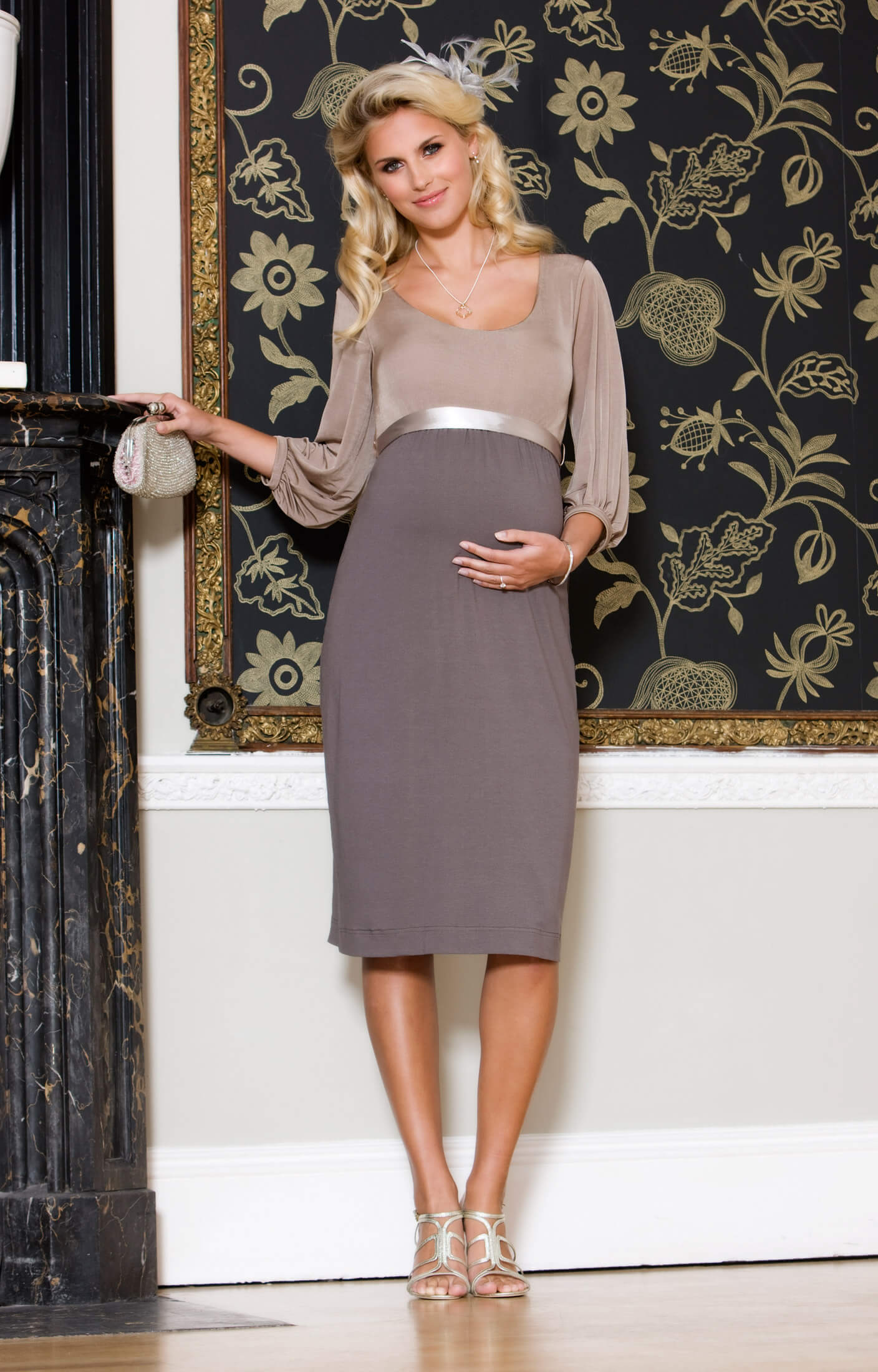 Sienna Maternity Dress (Dusk) - Maternity Wedding Dresses, Evening ...
