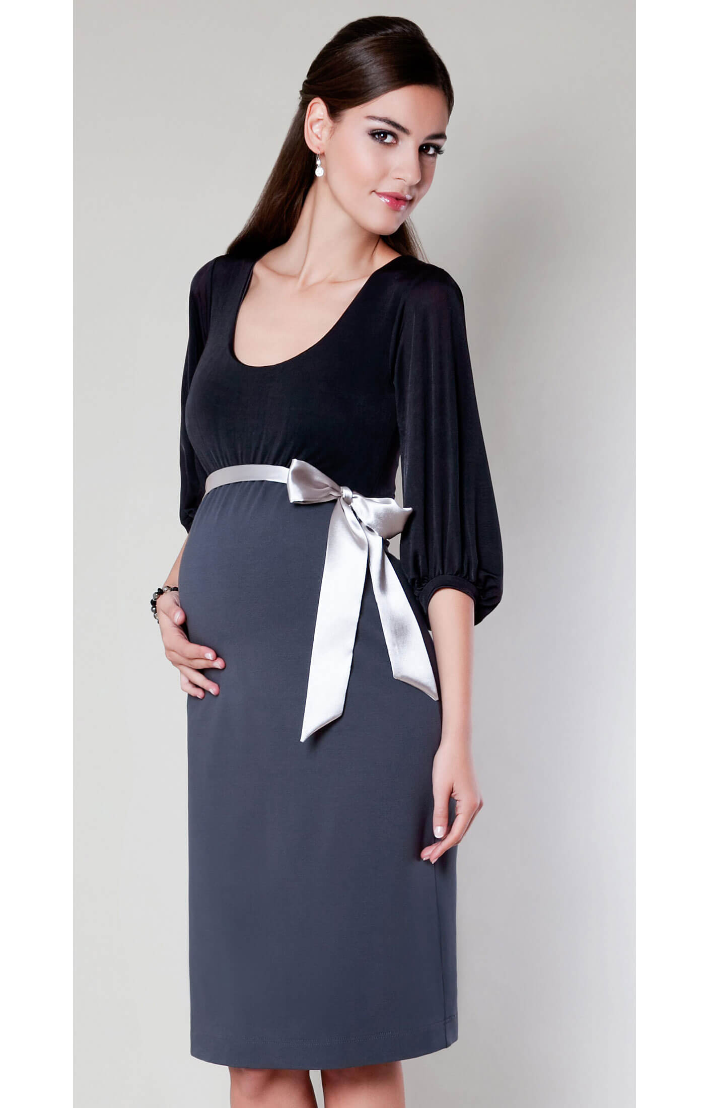 Sienna Maternity Dress Dark Truffle Maternity Wedding Dresses